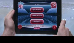 NFL 2010 HD for iPad: hands-on video