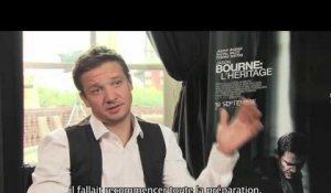 Jason Bourne : l'Héritage - Interview Jeremy Renner