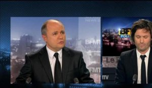 BFM Politique : l'interview du Point, Bruno Le Roux répond aux questions de Christophe Ono-dit-Biot - 03/02