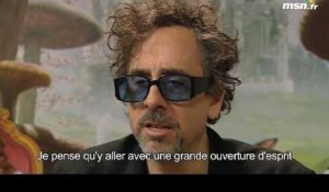 Interview Tim Burton - Festival de Cannes 2010 - Blog LG