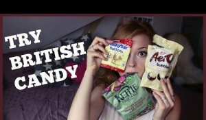 TRYING BRITISH CANDY