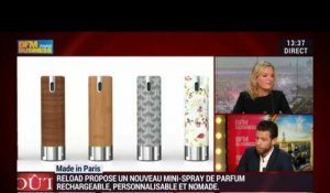 Made in Paris de Reload, le mini-spray personnalisable, rechargeable et nomade - 22/12