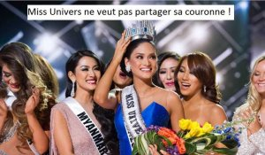 Miss Univers : Pas question de partager la couronne !