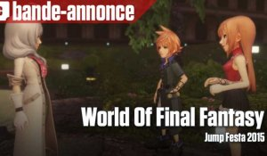 World Of Final Fantasy - Bande-annonce (Jump Festa 2015)