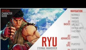 Street Fighter V - Ryu Official Character Guide
