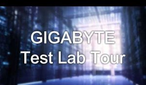 GIGABYTE Test Lab Tour