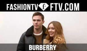 Burberry Arrivals at London Fashion Week 16-17 | FTV.com
