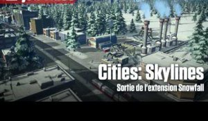Cities: Skylines - Sortie de l'extension Snowfall