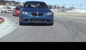 The new BMW M2, BMW 1 Series M Coupé and BMW 2002 turbo Driving video on the Racetrack | AutoMotoTV