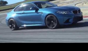The new BMW M2 Driving on the Racetract at Laguna Seca Trailer | AutoMotoTV