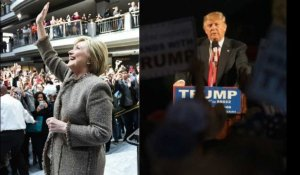 "Hillary Clinton et Donald Trump, grands gagnants du ""Super Tuesday"""