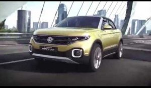 The new Volkswagen T-Cross Breeze Driving Video and Interior Design | AutoMotoTV