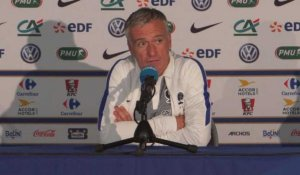 "Bleus - Deschamps : ""Pas de programme extra football"""