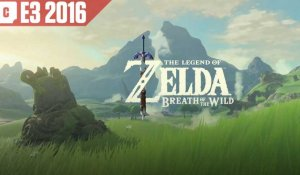 E3 2016 : bande-annonce pour The Legend of Zelda : Breath of the Wild