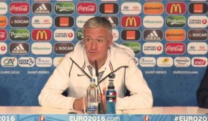 "Quarts - Deschamps : ""Un plaisir de jouer au Stade de France"""