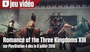 Romance of the Three Kingdoms XIII disponible sur PS4