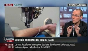 La chronique d'Anthony Morel: Quand la technologie facilite la prise de sang - 14/06