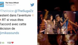 The Voice 6 : le trio The SugaZz cartonne chez les internautes !