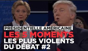 Trump vs Clinton : les 5 moments les plus violents du débat
