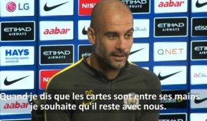 Man. City - Guardiola : ''Je veux qu'Aguero reste''