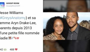 ZAP Tweets : Jesse Williams (Grey's Anatomy) et sa femme !
