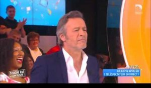 TPMP - Julien Courbet embrasse Jean-Michel Maire
