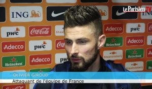 Giroud : «On est en constante progression»