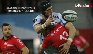 TOP 14 Racing 92 - RC Toulon : 20 -21