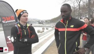 RMC Running Sessions avec New Balance - Interview de Leslie Djhone et Guillaume