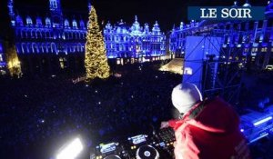Le ShowCase de Lost Frequencies sur la Grand-Place de Bruxelles