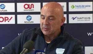 Top 14 - Racing 92: Laurent Travers s'exprime sur So'otala Fa'aso'o