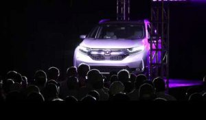2017 Honda CR-V Mass Production Start | AutoMotoTV