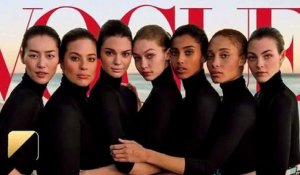 Kendall Jenner, Gigi Hadid et Ashley Graham en Une de 'Vogue'