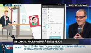 La chronique d'Anthony Morel: Des applications capables de draguer à votre place - 09/02