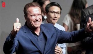 "Schwarzenegger à Trump ""Et si on échangeait de job?"""