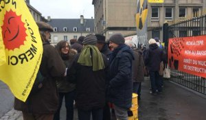 30 manifestants contre Flamanville