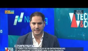 What's Up New York: Le fonds d'investissement ISAI finance et accompagne les sociétés du web à fort potentiel - 08/09