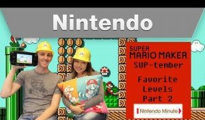 Nintendo Minute – Favorite Levels Part 2