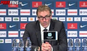 Ligue1 PSG-Guingamp: Laurent Blanc «Content que Pastore ait marqué un but»