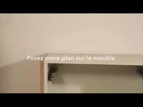 Poser Un Plan De Travail De Cuisine. Free Carrelage Plan De Travail