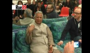 Speed dating avec Muhammad Yunus, prix Nobel de la paix