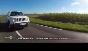 Comparatif : Jeep Renegade vs. Nissan Juke (Emission Turbo du 04/10/2015)