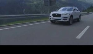 The all-new Jaguar F-PACE - Driving Video in Glacier White 3 | AutoMotoTV
