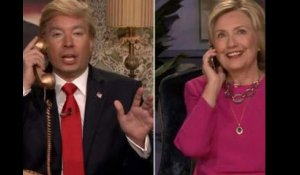 L'hilarant sketch d'Hillary Clinton face à Jimmy ''Trump'' Fallon - ZAPPING TÉLÉ DU 18/09/2015