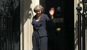 Sortie de Theresa May du 10 Downing street