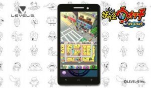 Yo-kai Watch for Smartphones - Trailer Level-5 Vision 2016
