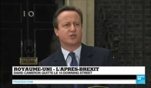 Royaume-Uni : David Cameron quitte le 10 Downing Street