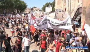 Manifestation des intermittents du spectacle