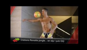 CR7 jongle en slip, Özil avec son chewing-gum, le surprenant penalty de Hulk... c'est le zap foot !