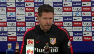 "34e j. - Simeone : ""Le match contre l'Athletic est essentiel"""